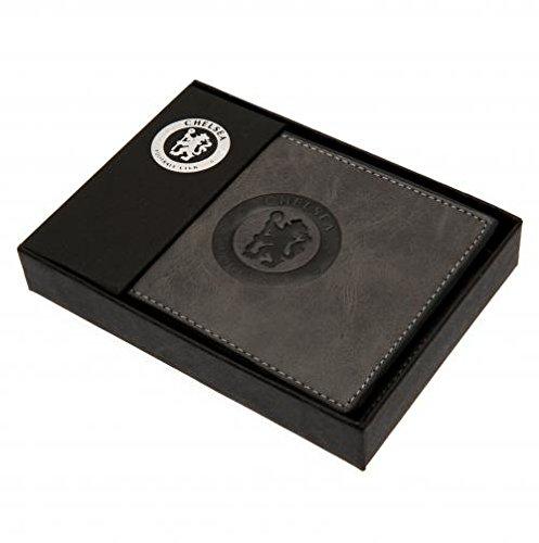 [해외]Chelsea F.C. Faux Suede Wallet 818/Chelsea F. C. Faux Suede Wallet 818