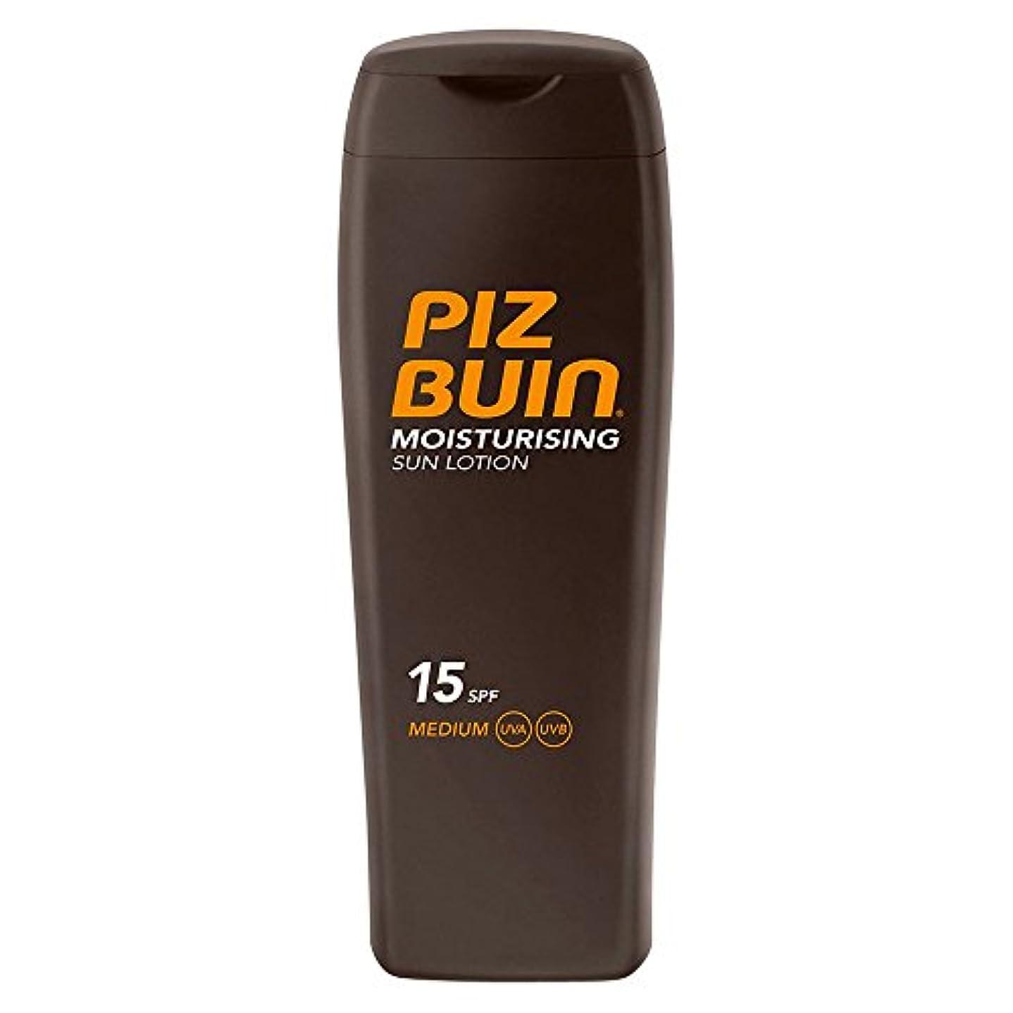 遅い強度激怒日ローションSpf15の200ミリリットル中ピッツのブイン (Piz Buin) (x6) - Piz Buin In Sun Lotion SPF15 200ml (Pack of 6) [並行輸入品]