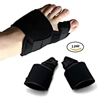 ilolsports Big Toe Valgus Straightner Separators Bunion Splintレリーフ、1ペアのスポーツ傷害、外反母趾、Corns、関節炎、裂ける、ハンマーつま先、Hallux Rigidus、痛風、etc