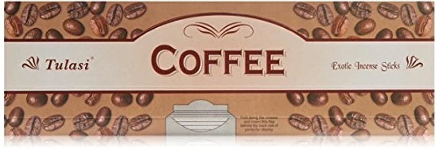 回転する民兵スタンドTulasi Coffee 8スティックスクエアパック