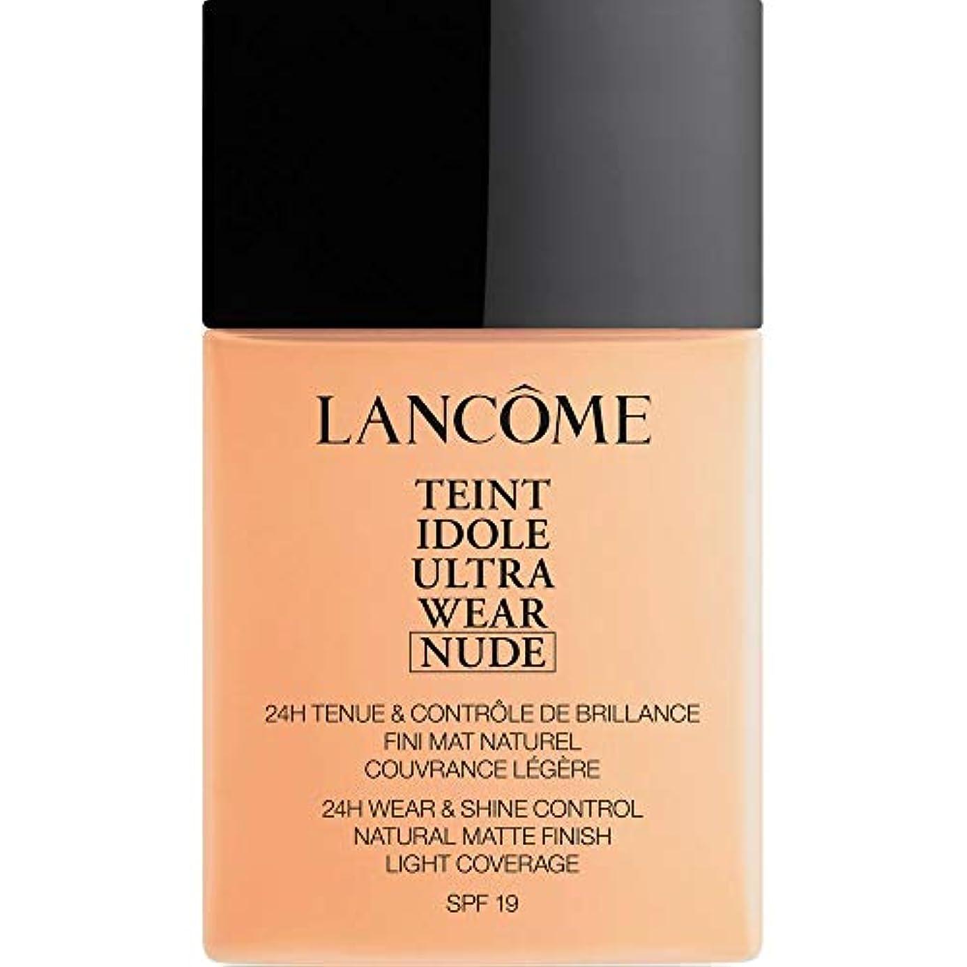 脱走テーブル説教する[Lanc?me ] ランコムTeintのIdole超ヌード財団Spf19の40ミリリットル024を着る - ベージュヴァニラを - Lancome Teint Idole Ultra Wear Nude Foundation...