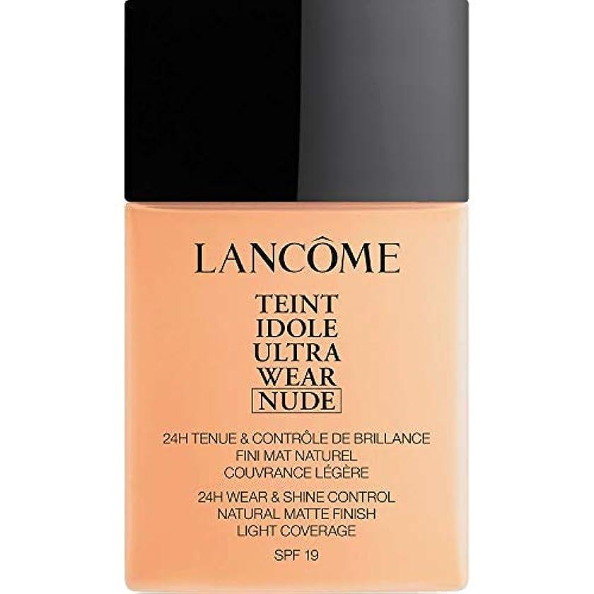 インポート弁護士有望[Lanc?me ] ランコムTeintのIdole超ヌード財団Spf19の40ミリリットル024を着る - ベージュヴァニラを - Lancome Teint Idole Ultra Wear Nude Foundation...