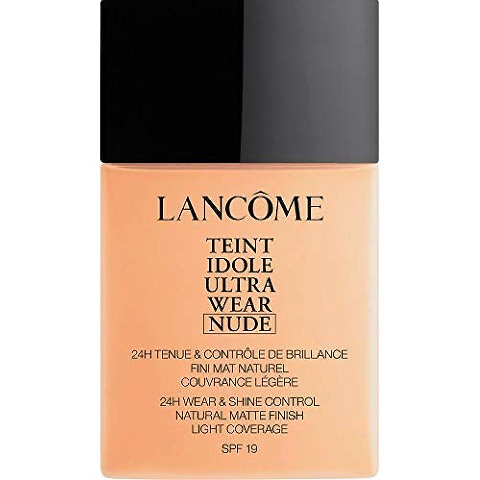 ピルイライラする比較[Lanc?me ] ランコムTeintのIdole超ヌード財団Spf19の40ミリリットル024を着る - ベージュヴァニラを - Lancome Teint Idole Ultra Wear Nude Foundation...