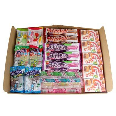 おかしのマーチ グミ・ラムネ・チューイングキャンディ・グリコキャラメル・駄菓子食べ比べセット(7種・計35コ)