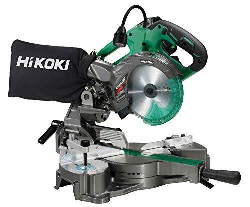 HiKOKI(ハイコーキ) 旧日立工機  コードレス卓上スライド丸のこ 36V マルチボルト 充電式 刃径165mm リチウムイオン電池、急速充電器付※蓄電池保証書、純正梱包箱付 C3606DRA(XP)