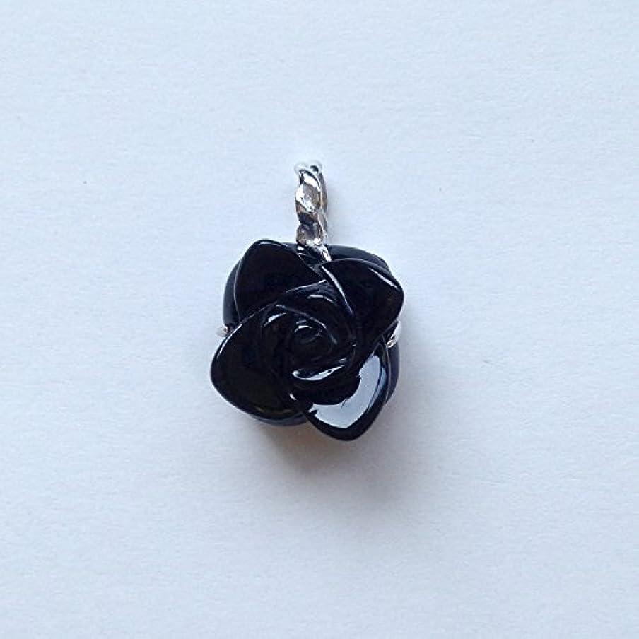 最終崖入る香る宝石SVオニキスペンダント通常¥26,800の所 (Ag925)
