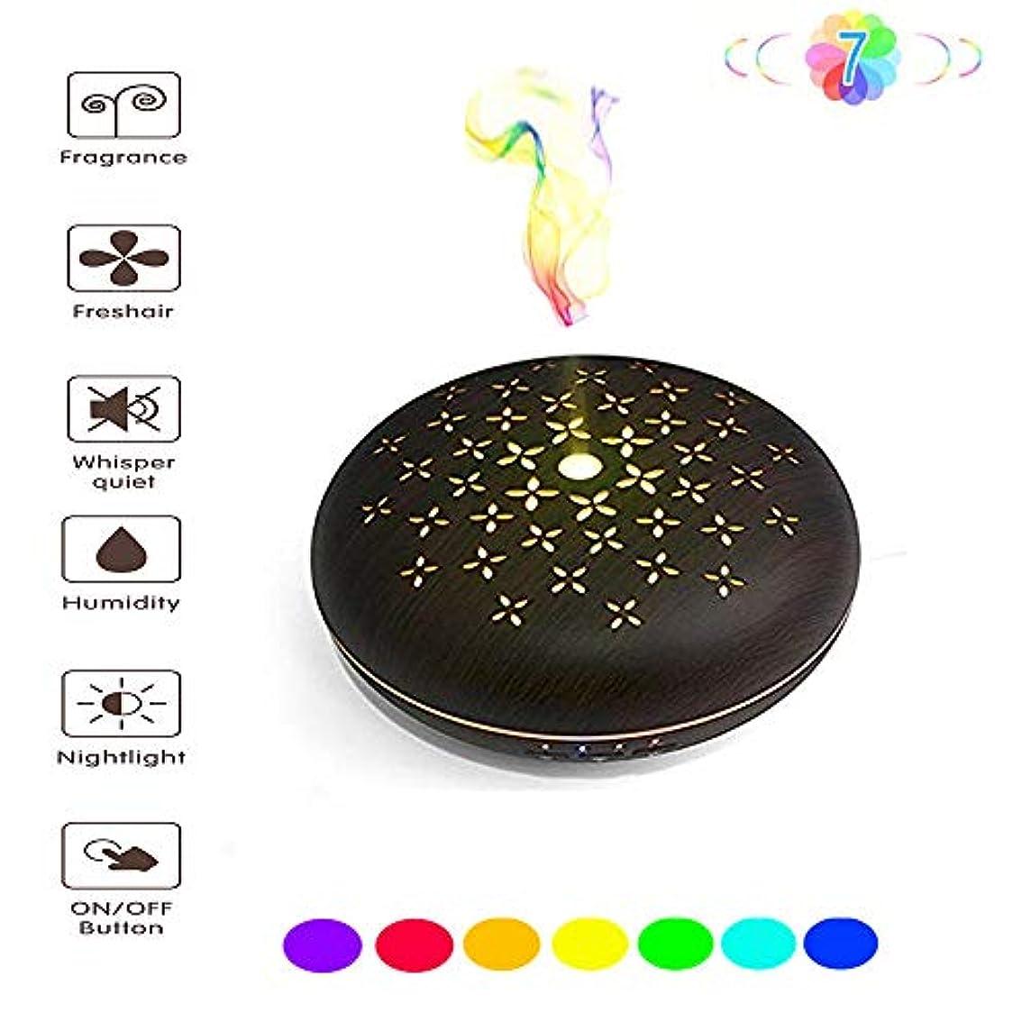 コメントこだわり取り出すアロマディフューザー - WIFIスマートボイスコントロール - カラフルな夜間照明用のタイミング設定付きの静かなデザイン - ネブライザー空気清浄機 - 家庭用/オフィス用