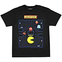 Pac-Man Boy's Game Action Graphic Print T-Shirt