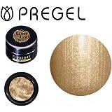 ジェルネイル カラージェル プリジェル PREGEL スーパーカラーEx ライナーゴールド-P 4g