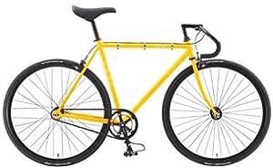 FUJI(フジ) FEATHER シングルスピードバイク 2015年モデル サイズ:58 [SINGLE SPEED、クロモリフレーム、700C] マスタード 15FETRMS58
