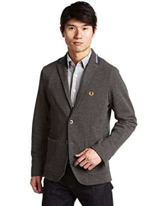 Tailored Jacket 11-16-0810-060: Charcoal