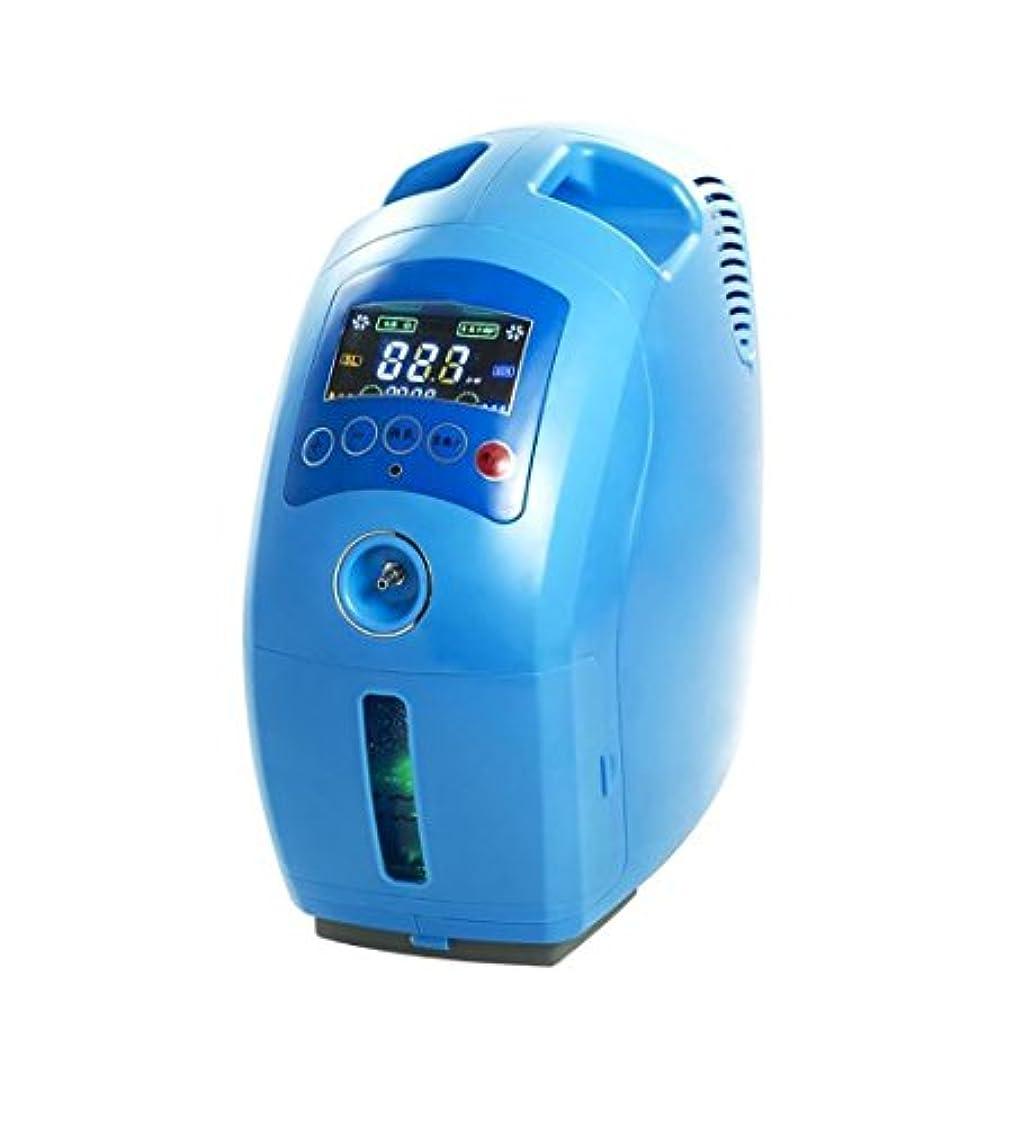 謝罪確認してください食堂DS-酸素発生器 酸素コンセントレータ - ポータブル酸素コンセントレータ空気清浄機酸素マシンジェネレータ出力2-9L /分調整可能 - 青 - 家/車利用可能 &&