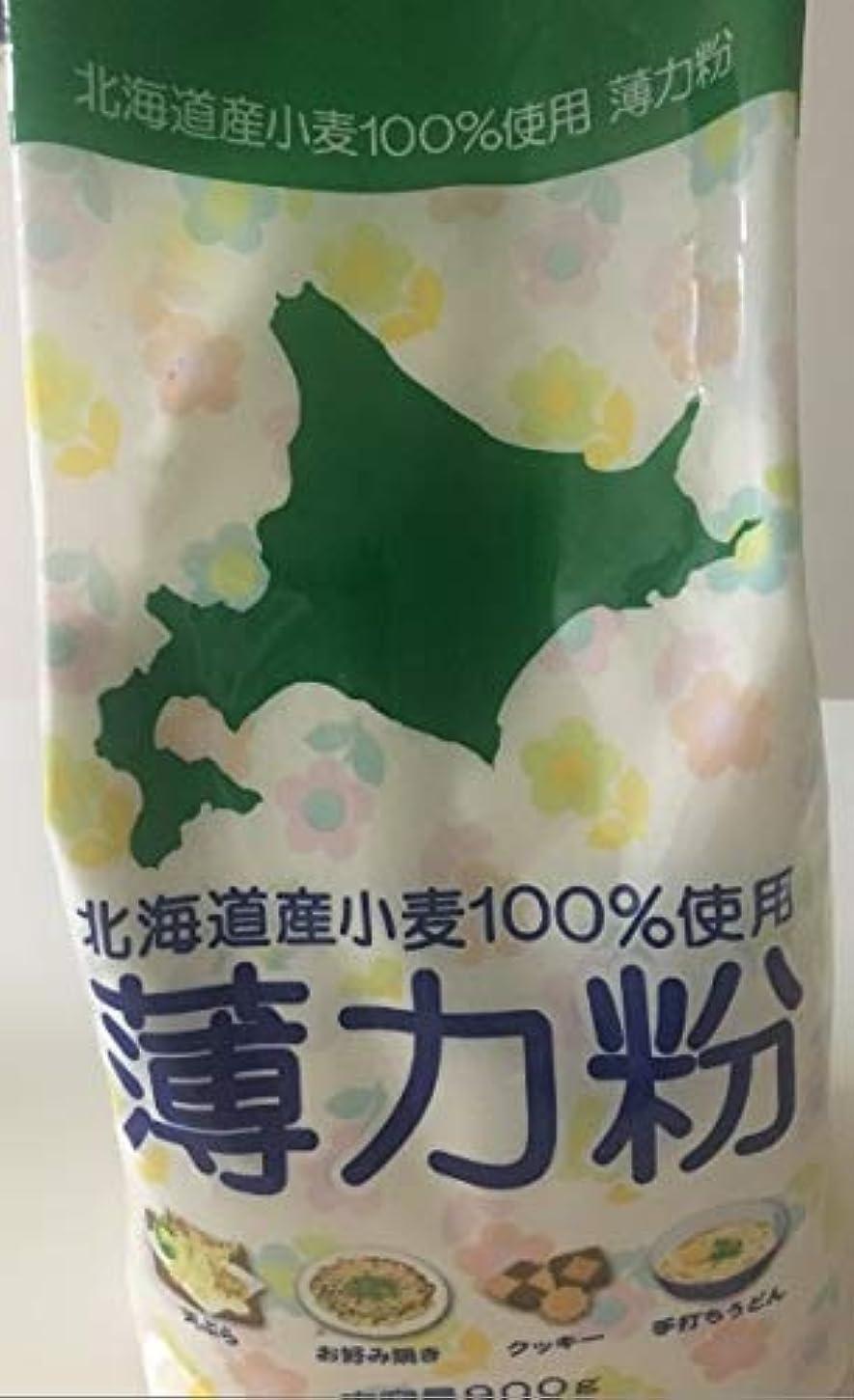 腸教え交じる北海道産小麦100%薄力粉日本製粉
