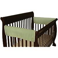 Leachco Easy Teether XL Side Crib Rail Cover, 2 Pack, Sage by Leachco