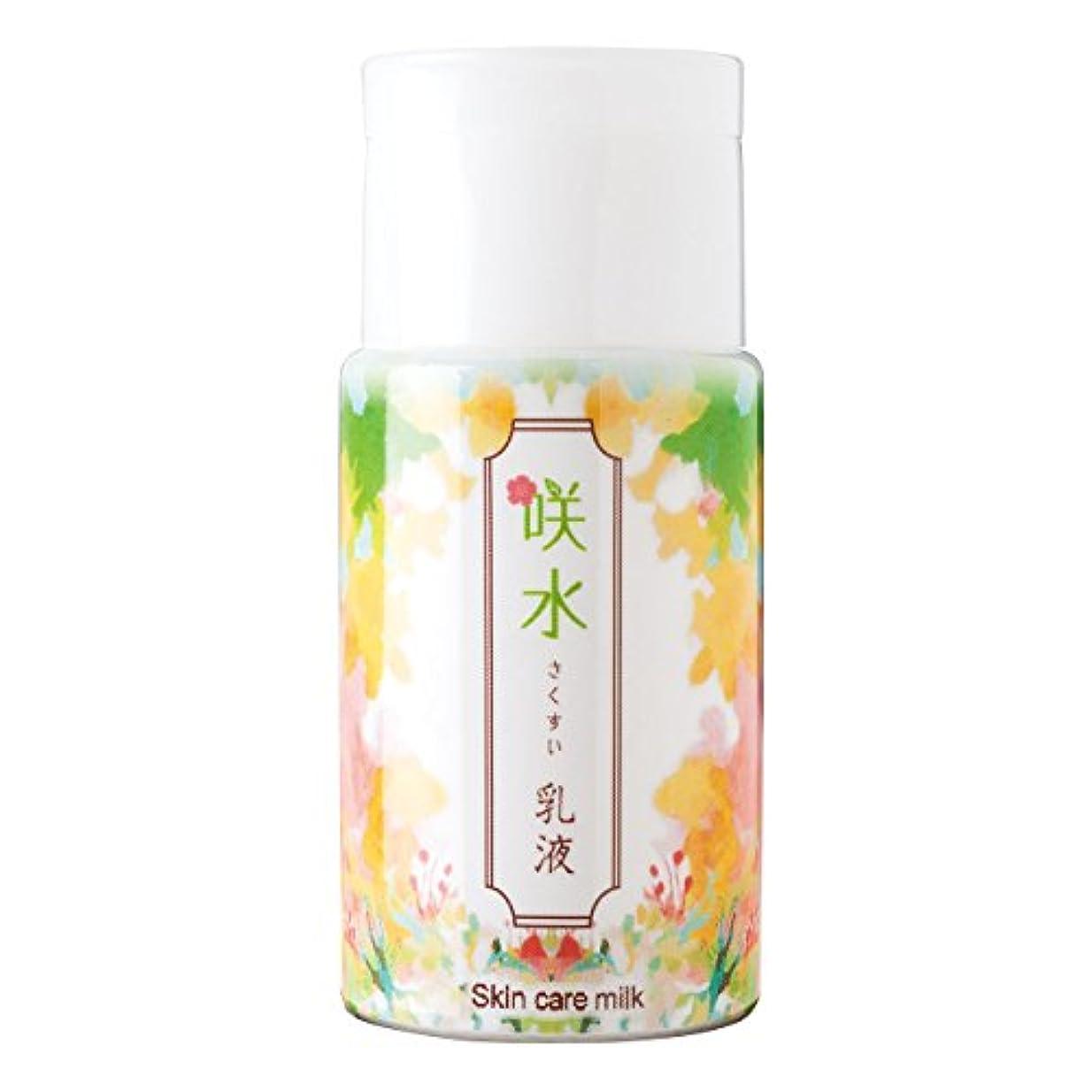 スティーブンソンアンテナ美しい咲水 スキンケア乳液 100ml リバテープ製薬 日本製 スイゼンジノリ サクラン 乾燥 肌 顔 フェイス