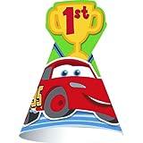 Disney 1st Birthday Cars Cone Hats ディズニーの第1誕生日カーズコーンハット?ハロウィン?クリスマス?