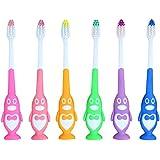 Rad子供 赤ちゃん漫画形状ソフト歯ブラシ子供歯科口腔ケアブラシツール歯ブラシ