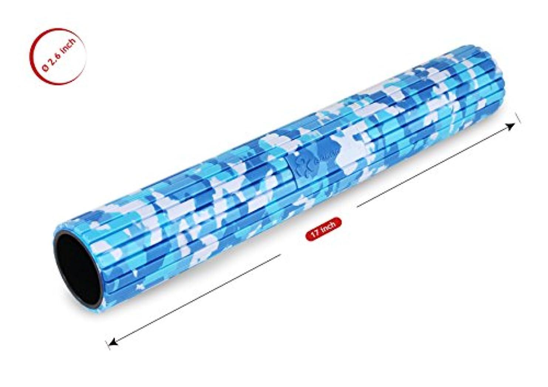 型シェルクリップ蝶バランスワン 筋膜リリースマイオローラー(Blue)