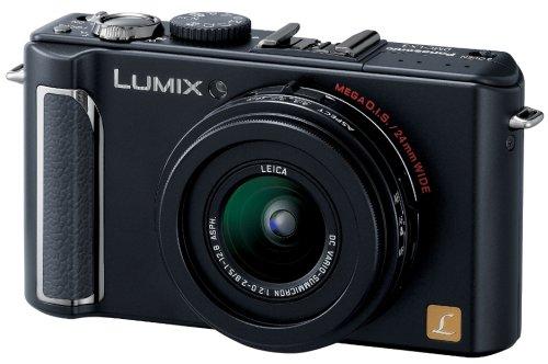 パナソニック デジタルカメラ LUMIX (ルミックス) LX3 ブラック DMC-LX3-K