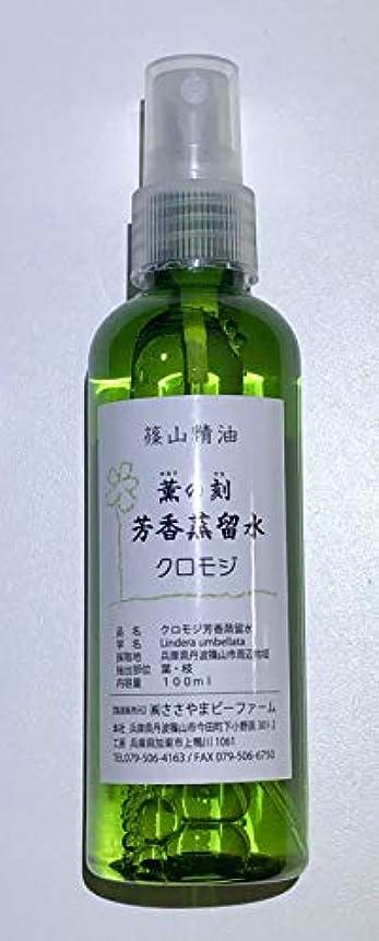 痛みお香肥沃な篠山精油 芳香蒸留水 100ml ハーブウォーター (クロモジ, 1本)