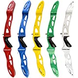 """25"""" ILF Recurve Bow Riser Magnesium Alloy Archery Takedown American Hunting Recurve Bow Handle Right Hand"""