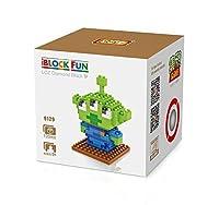 LOZダイヤモンドブロックNanoblock Toy Story Squeeze Toyエイリアン教育玩具120pcs