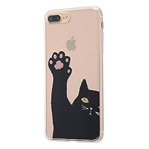 イングレム iPhone7 Plus ケース TPUケース+背面パネル オリジナルデザイン/先生っ!  IJ-P7PTP/AK040