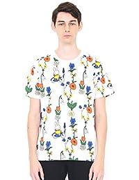 (グラニフ) graniph コラボレーション Tシャツ お花とミッフィー (ミッフィー) (ホワイト) メンズ レディース