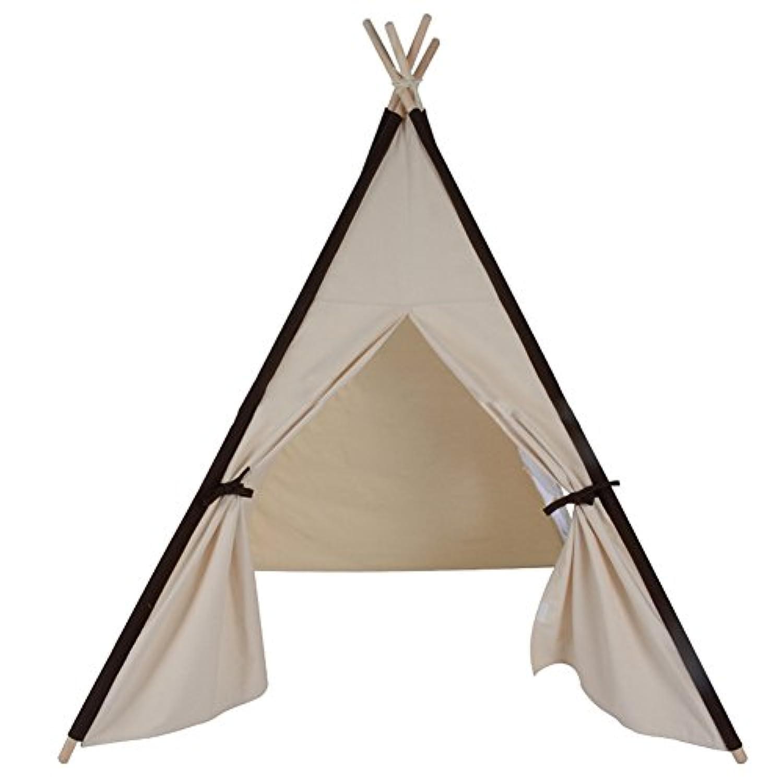 知育玩具 テント子供用 キッズテント 屋内テント 折り畳み式 秘密基地 子供遊ぶハウス 子供部屋装飾 簡単組み立て