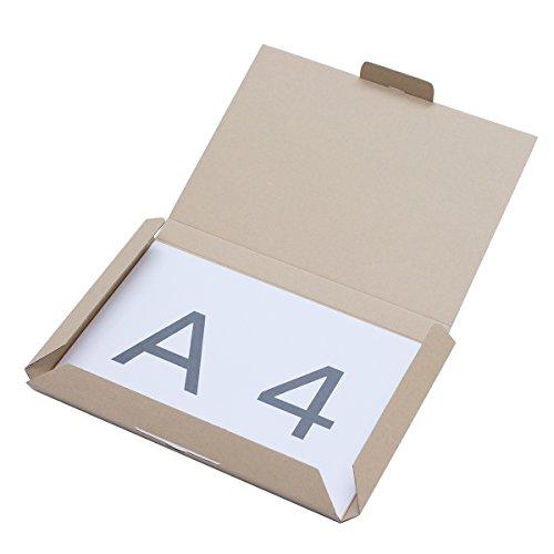 アースダンボール レターパック ピッタリ ダンボール A4 10枚 0283