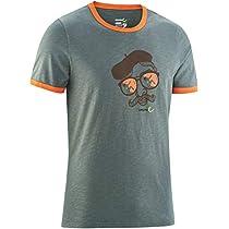 EDELRID(エーデルリッド) メンズ 登山 クライミング ボルダリング Tシャツ ハイボールT3 フォレスト M 【 日本正規品 】 ER49123