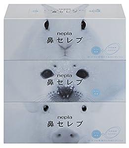 ネピア 鼻セレブ ティシュ 400枚(200組)×3個パック