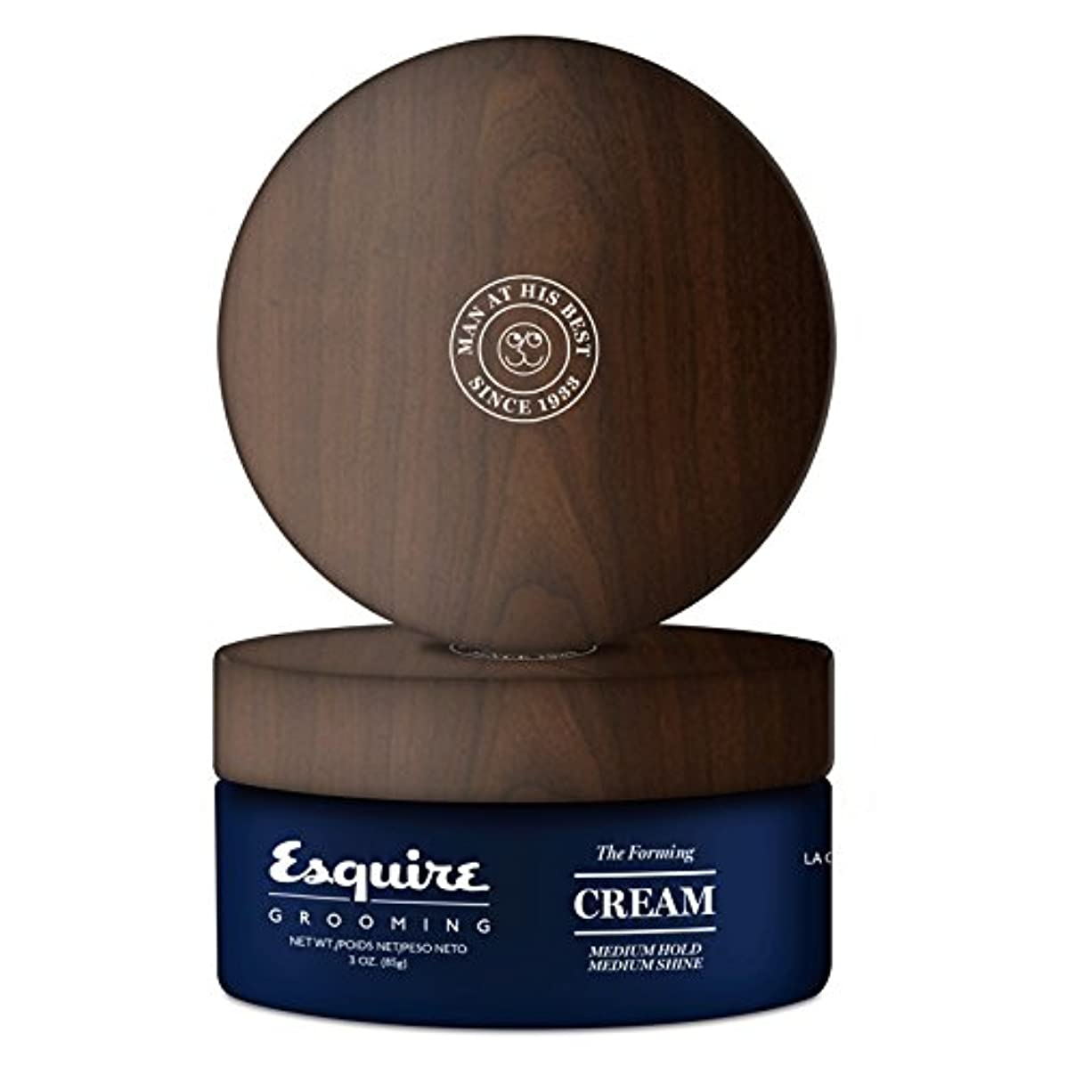忌み嫌う甘い九CHI Esquire Grooming The Forming Cream (Medium Hold, Medium Shine) 85g/3oz並行輸入品