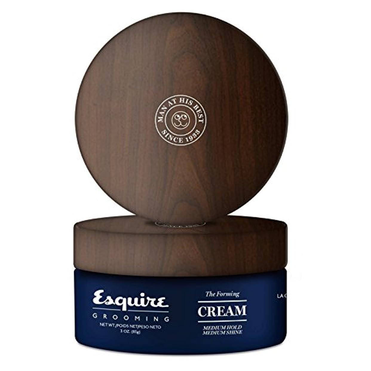パリティ豆ドームCHI Esquire Grooming The Forming Cream (Medium Hold, Medium Shine) 85g/3oz並行輸入品