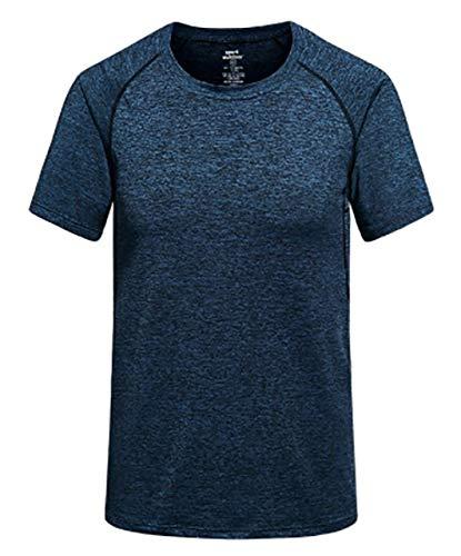 [ジェームズ・スクエア] メンズ 速乾 ドライ Tシャツ スポーツ トレーニング シャツ 半袖 吸汗...