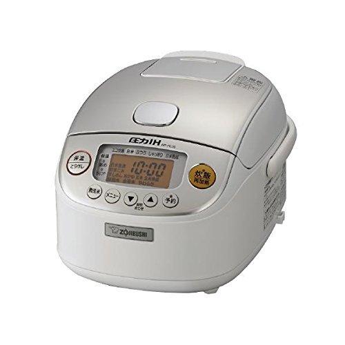 象印 圧力IH炊飯ジャー(3合炊き) ホワイトZOJIRUSHI 極め炊き NP-RL05-WA