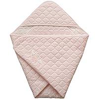 コットンスムース 日本製 ベビーアフガン おくるみ ピンク