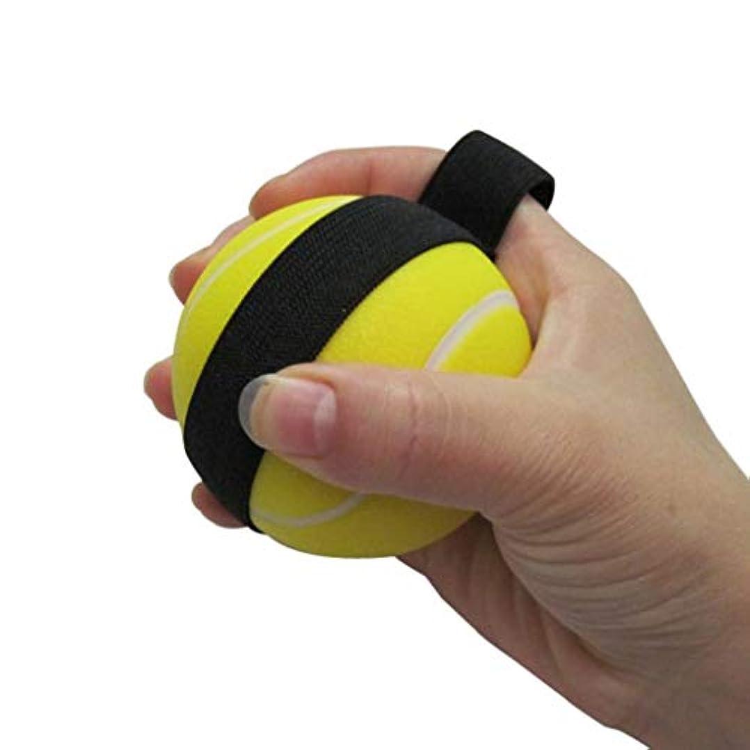 風邪をひくシーン平等リハビリテーショングリップボールストローク片麻痺老人指の筋力リハビリトレーニング機器手の機能の問題群集リハビリテーションエクササイズグリップ