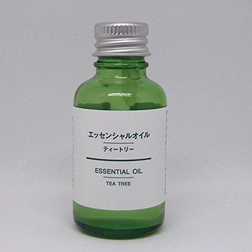 【無印良品】エッセンシャルオイル 30ml (ティートリー)