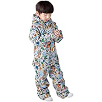 Snow Suit for Kids, New Boys and Girls Ski Suit Siamese Village Set Warm One Pieces