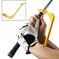 Happyハッピー耳 ゴルフスイング ゴルフ道具 ゴルフ練習器具スイング練習 姿勢矯正 補助器 (24)