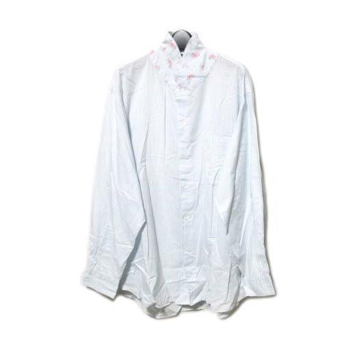 (コムデギャルソンオム) COMME des GARCONS HOMME フラワー切替シャツ