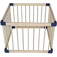 安全フェンス、子供の遊びのフェンス屋内の赤ん坊の這う幼児のフェンス赤ちゃんのホームソリッドウッドの安全フェンス (サイズ さいず : 80 * 80cm)