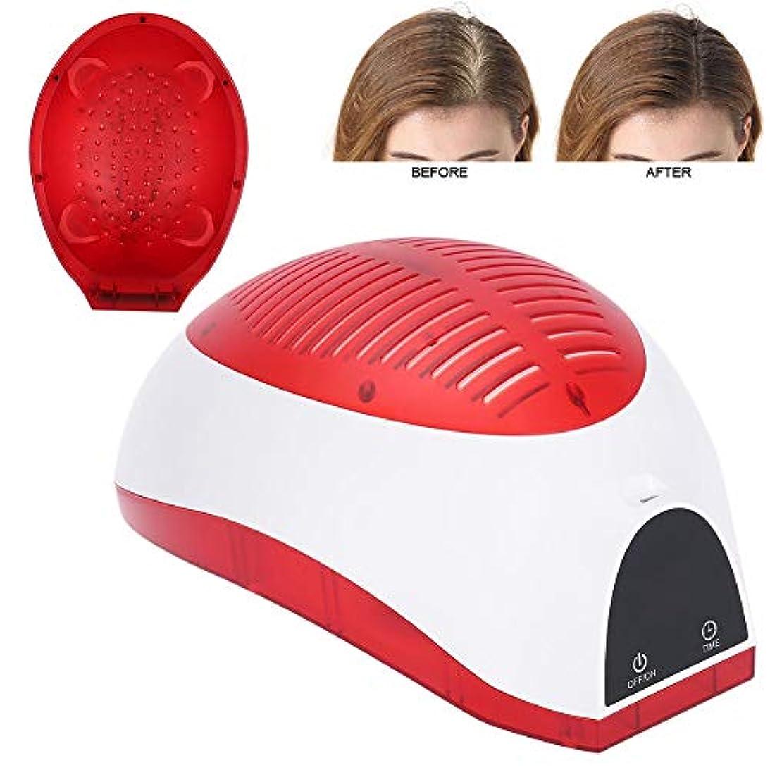 固有のタックル保護する髪の成長のヘルメット、脱毛キャップ、USBの髪の成長の再成長ヘルメット脱毛キャップを減らす髪のキャップヘルメット