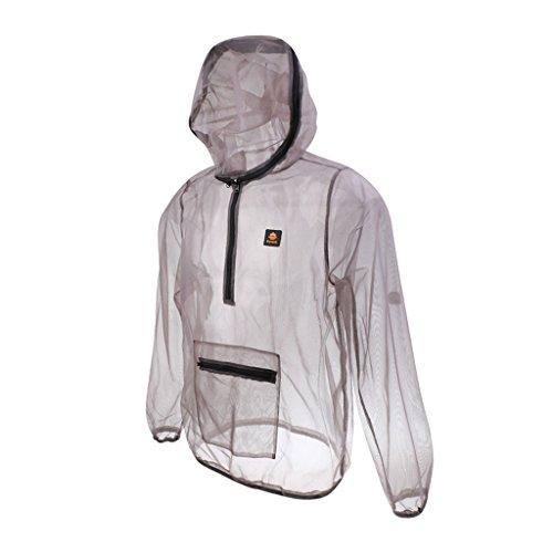 軽量防蚊ジャケット蜂昆虫蚊よけメッシュジャケットコート釣り狩猟屋外プロテクターコート