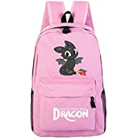Tauras How to Train Your Dragon Backpack Student Daypack Laptop Bag College Bag Fashionable 3D DIY Lightweight Large Space Anti-Dirt Schoolbag-10