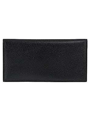 Valextra(ヴァレクストラ) 財布 メンズ グレインレザー 2つ折り長財布 ブラック V8L21-029-000N[並行輸入品] [ウェア&シューズ]