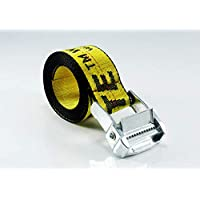 Off White Tie Down Yellow Nylon Cotton Big Iron Head Industrial Belt 200Cm AU