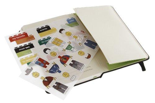 Moleskine Limited Edition Lego Green Brick Pocket Plain (Moleskine Cover Art)