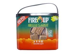 Fire up(ファイヤーアップ) ファイヤーアップ 100キューブバケット 541142A